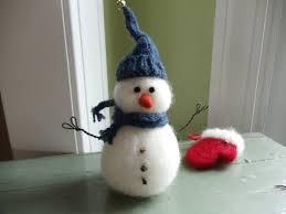 needle felted mitten ornaments living felt