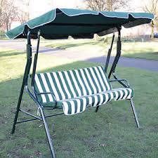 Garden Swing Seats Outdoor Furniture by 3 Seater Garden Hammock Swing Seat Outdoor Bench Chair Patio Swing