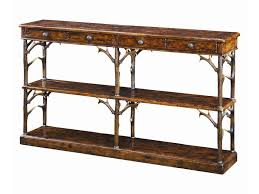 theodore alexander console table theodore alexander tables cb53007 faux deer antler sofa table