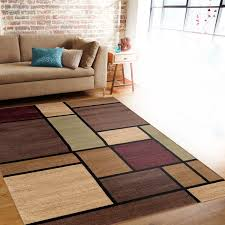 Modern Area Rugs 10x14 Contemporary Modern Boxes Multi Area Rug 3 3 X 5 Square Colorful