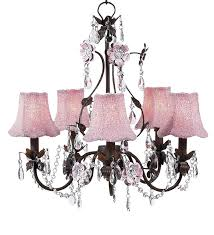 How Much Does It Cost To Rewire A Chandelier 5 Arm Flower Garden Pink And Brown Chandelier Optional Pink
