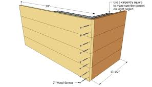 free outdoor planter box plans friendly woodworking projects