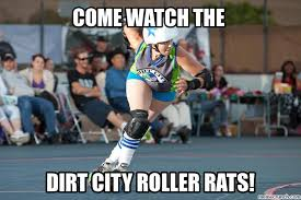 Roller Derby Meme - derby