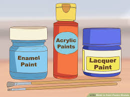 3 ways to paint plastic models wikihow