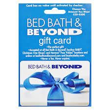 Bed Bath Beyons Bed Bath U0026 Beyond Non Denominational Gift Card Walgreens
