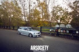 slammed audi s4 the bawss airsociety