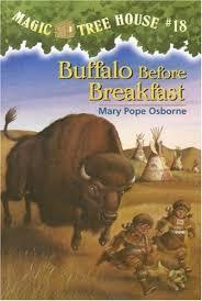 buffalo before breakfast magic tree house 18 by mary pope