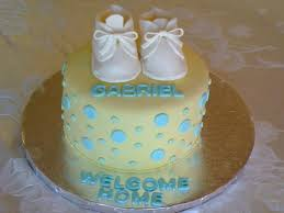welcome home baby cake cakecentral com