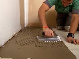 Bathroom Tile Flooring by How To Install A Plank Tile Floor How Tos Diy