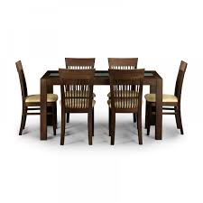 julian bowen santiago dining set with 6 chairs