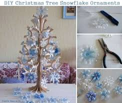 diy tree snowflake ornaments diy crafts and ideas