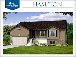 Rambler House Style Hampton Floor Plan Rambler New Home Design Nilson Homes