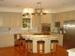 Cream Kitchen Cabinets With Glaze The Great Significance Of Repainted Cabinets In Revitalizing