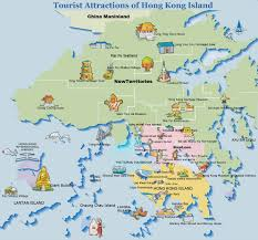 Map Of International Airports Maps Of Hong Kong Tourist Transport And Street Maps