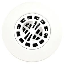 Hair Stopper For Bathtub Hair Catcher Shower Drain Cover In White Danco