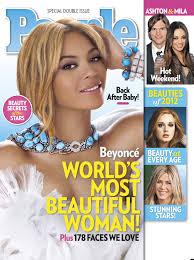 Women Magazine People U0027s Most Beautiful Women 2012 Magazine List Includes Beyonce