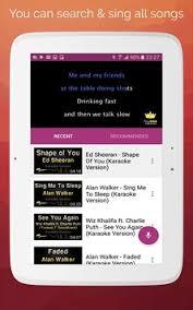 karaoke apk karaoke 2018 sing record apk free audio app