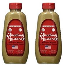 stadium mustard stadium mustard squeeze 12 ounce pack of 6 dijon
