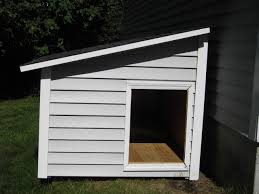 House Plan This Lean To Style Dog House Will Make A Great Outdoor