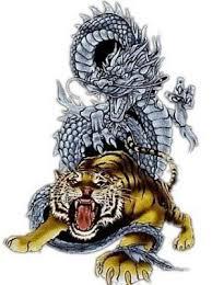 amazing japanese style tiger design