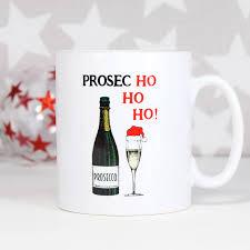 christmas mug prosecco christmas mug by of lemons notonthehighstreet