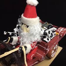 navajo wooden santa wagon folk art delbert buck acdeb16 20 001w