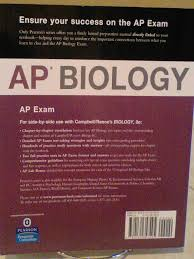 ap biology ap test prep series campbell 9780131357495
