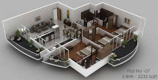 apartment design 3d plan duplex apartment floor plans 3d duplex