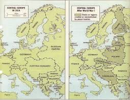 Europe Map In 1914 by Markville Canadian History
