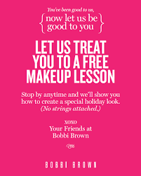 free makeup classes brown offers free makeup lessons
