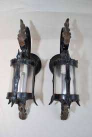 Sconce With Outlet Antique Pair Of Wrought Iron Outdoor Sconces At 1stdibs