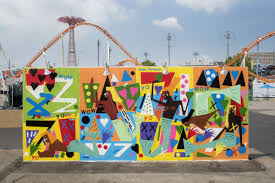 coney art walls return this weekend for the summer season curbed ny a mural by nina chabel anbney is one of a handful that s returning for the 2017 summer season martha cooper