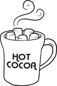 Free Printable Hot Cocoa Coloring Page For Kids Cup Coloring Page