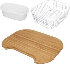franke sink accessories chopping board 3 piece accessory set with wooden chopping board