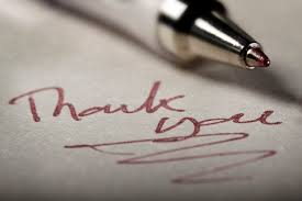 thank you note definition and writing tips