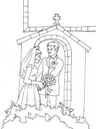 dessin mariage imprime le dessin à colorier de mariage