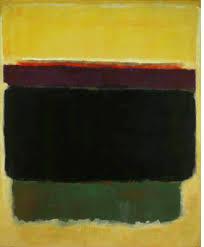yellow brown mark rothko paintings