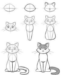 imágenes de gatos fáciles para dibujar draw a cat draw d o g s n c a t s s by s pinterest gato