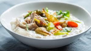 recipe turkey jook rice porridge