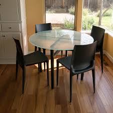 Benson Dining Tables In Natural Steel Modern Dining Tables - Room and board dining table