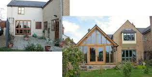 building an extension case studies the timber frame company