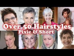 pixie haircuts for older women over 50 years old new 2018 pixie