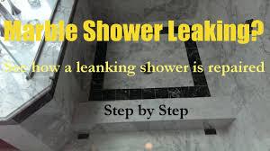 marble shower pan leak repair ma ri 508 880 6001 specialized floor