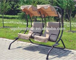 high quality patio swing chair cast iron garden chair selling