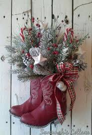 plain design western christmas decorations cowboy add flair hgtv