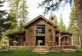 Pros And Cons Of Pole Barn Homes Pole Barn House Exterior Rustic With Barn Cabin Grass Lawn Pole
