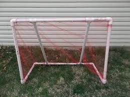 Soccer Net For Backyard by Cheap And Easy Diy Pvc Pipe Soccer Goal Diy Pinterest Easy