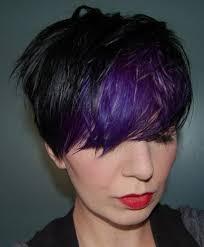 black hairstyles purple trend alert black and purple hair would you dare