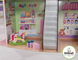 Kidkraft Avalon Tall Bookshelf White 14001 Kidkraft Dolls U0027 Shopping Center Dollhouse 65282