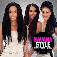 black cuban twist hair modelmodel synthetic hair braids double strand style havana twist